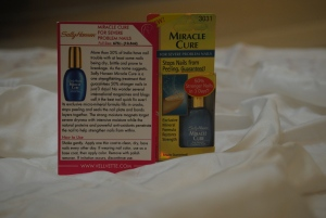Sally Hansen – Miracle Cure for severe problem nails