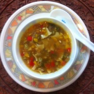 Veg Pasta Soup