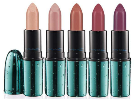 MAC Alluring Aquatic  lipsticks