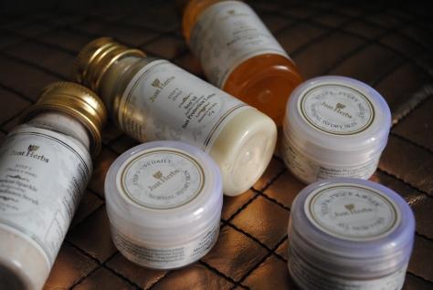 Just Herbs skin care kit