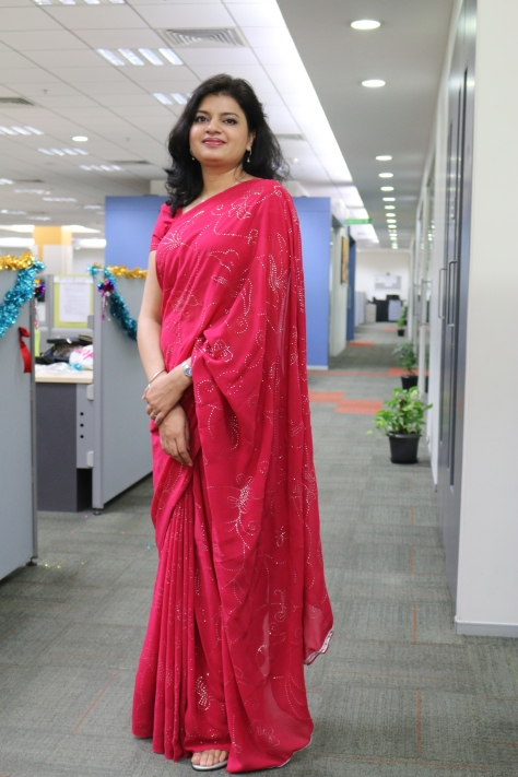 Ethnic day at work!!