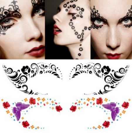 sticker makeup