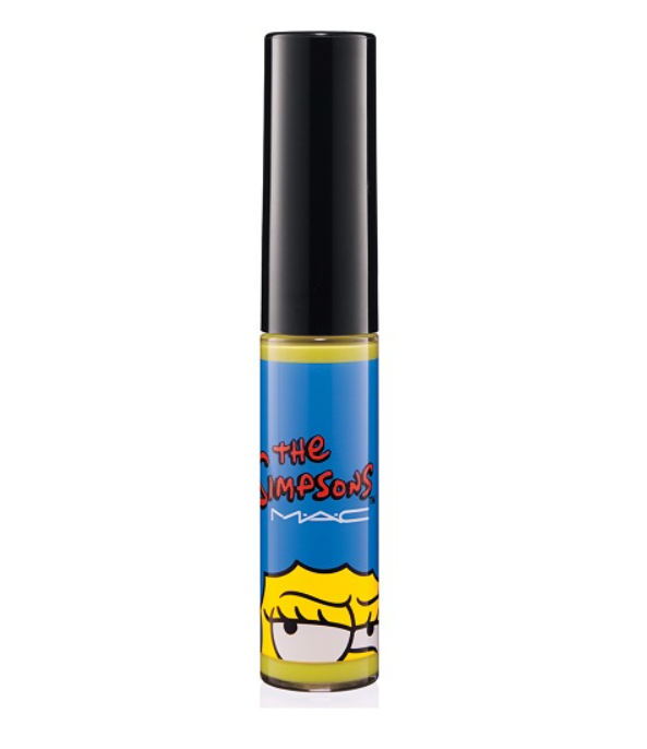 MAC Simpsons LIPGLASS-Nacho Cheese Explosion