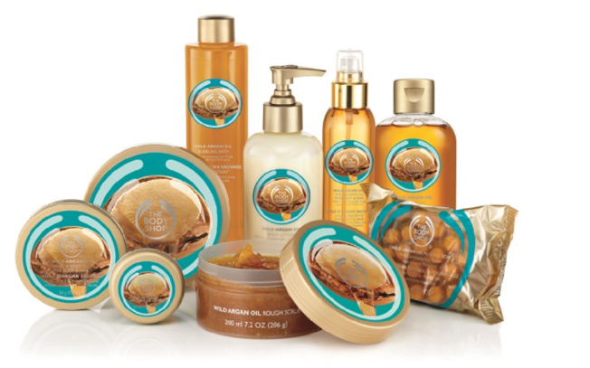 The Body Shop Wild Argan Range in India