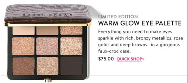 Warm Glow Eye Palette