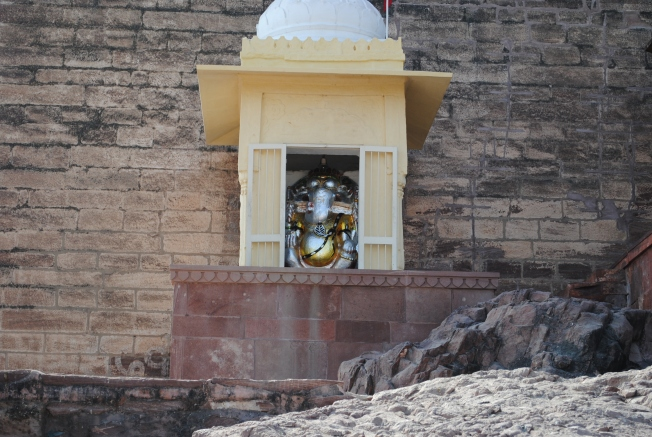 Ganesh Statue at the gate