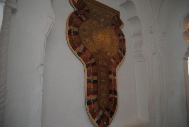 Decoration used on elephants
