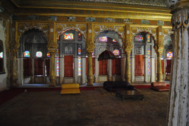 Phool Mahal – House of Flowers - The chamber was used for entertainment and was decorated with gold and paintings