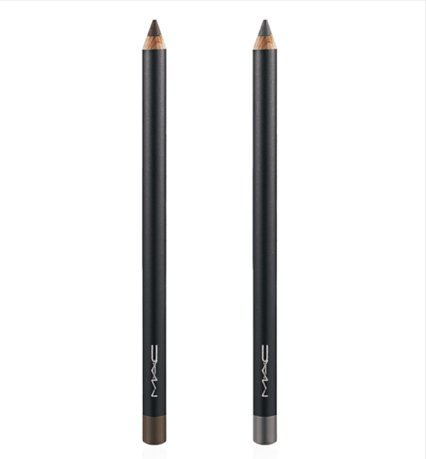 MAC Eye Pencil in Taupe (left) & Slate (right)
