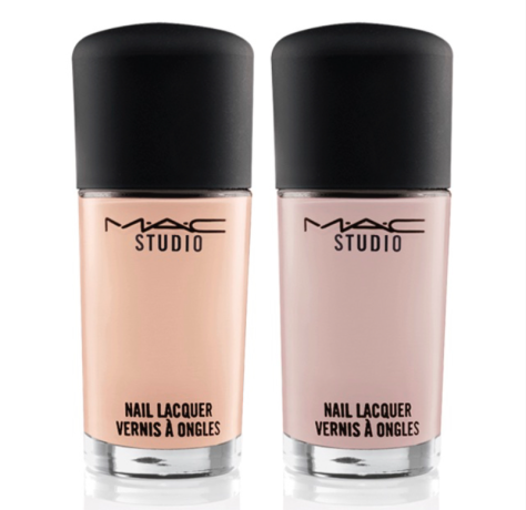 MAC Studio Nail Lacquer in Lightness of Being (left) & Modern Movement (right)