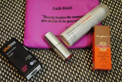 March 2015 Fab bag
