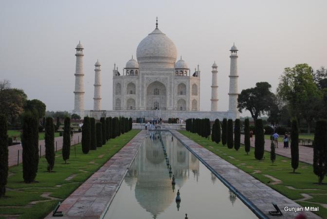My recent visit to Taj Mahal!!