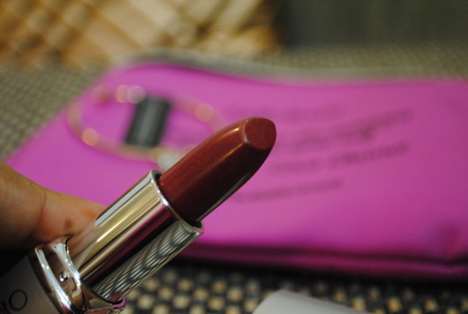Palladio Herbal Lipstick in Rosey Plum Review