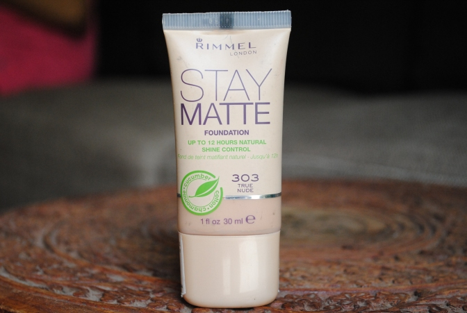 Rimmel London Stay Matte Foundation Review