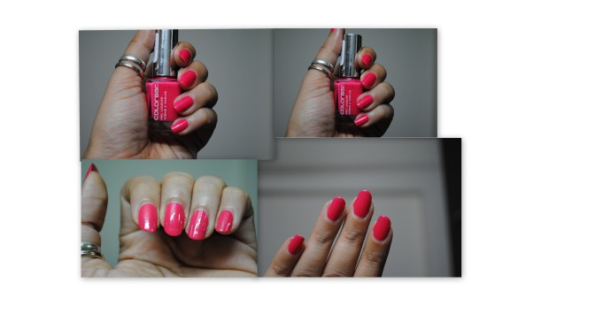 What's on my nails this week!! – Colorbar Nail Lacquer Exclusive 44 Review