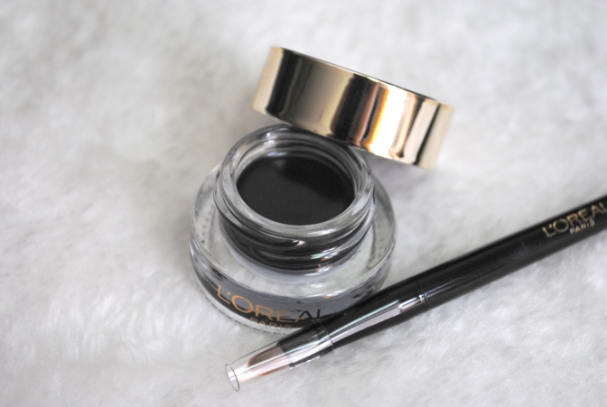L'Oreal Paris 36H Super Liner Diamond Black Gel Intenza Eyeliner Review