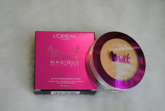 L'Oreal Mat Magique All-in-One Matte Transforming Powder