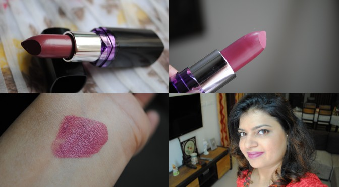 Maybelline ColorShow Lipstick –  Forever Mauve Review