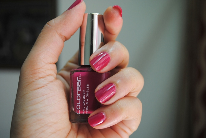 Weekend Manicure!! – Colorbar Nail Lacquer 'Oh My Magenta 2' Review