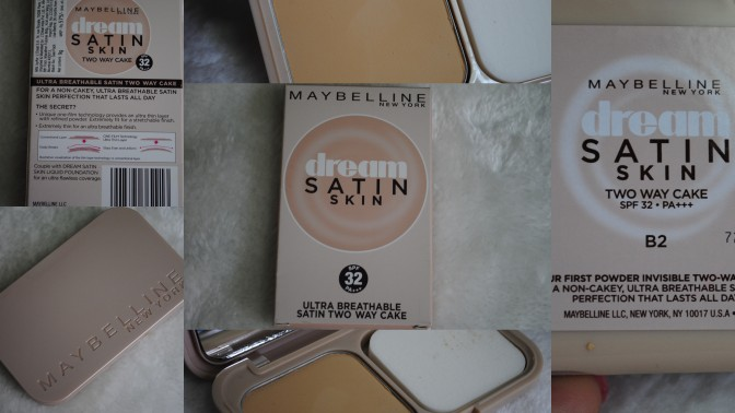 Maybelline Dream Satin Skin Two Way Cake : Review