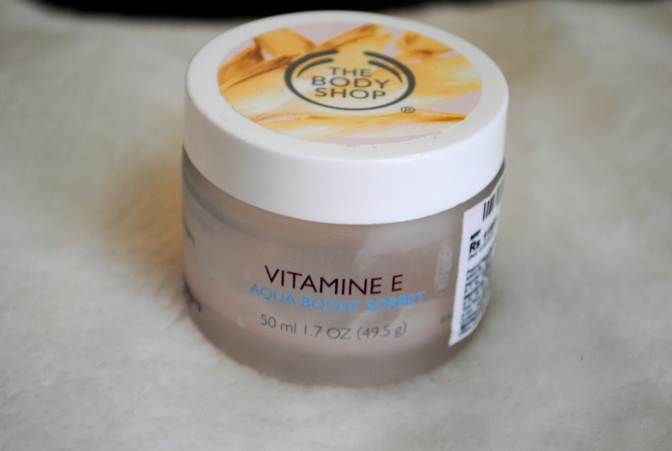 The Body Shop Vitamin E Aqua Boost Sorbet Review