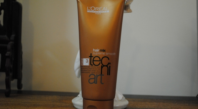 L'Oreal Tecni Art Hair Mix Supreme Smooth Nutri Smoothing Cream Review