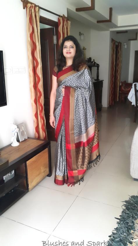 Coimbatore silk saree