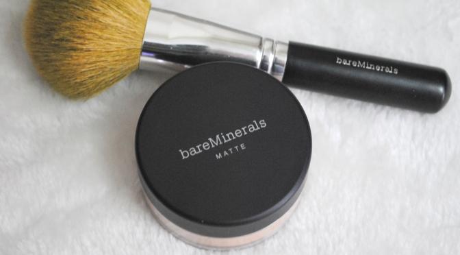 Bare Escentuals MATTE Foundation Review