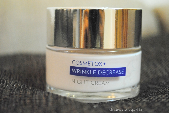 Marks & Spencer – Cosmetox+ Wrinkle Decrease Night Cream Review