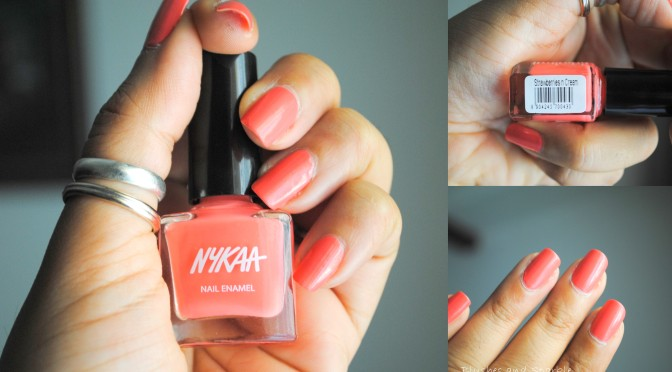Monday Manicure – Strawberries n Cream – 43 by Nykaa.com